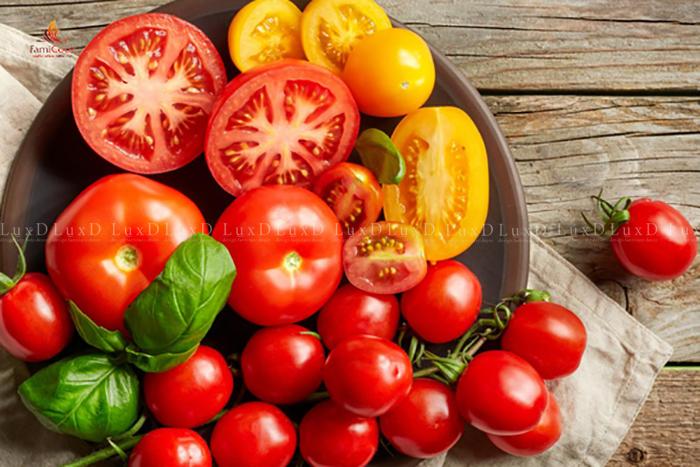 Cà chua dồi dào các chất chống oxy hóa ngăn chặn các gốc tự do gây ung thư